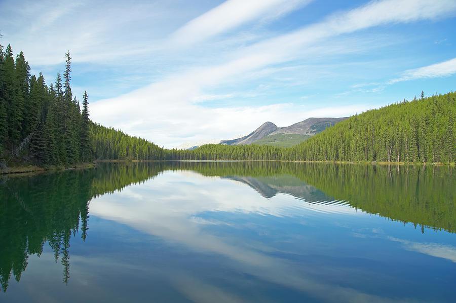 Canada, Alberta, Jasper National Park Photograph by Liz Whitaker