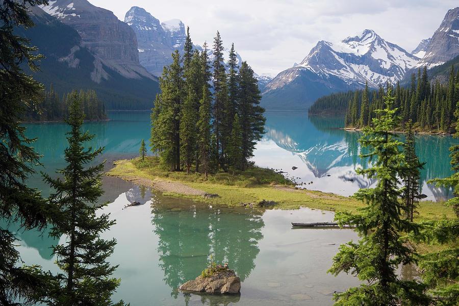 Canada, Alberta, Jasper National Park Photograph by Peter Adams