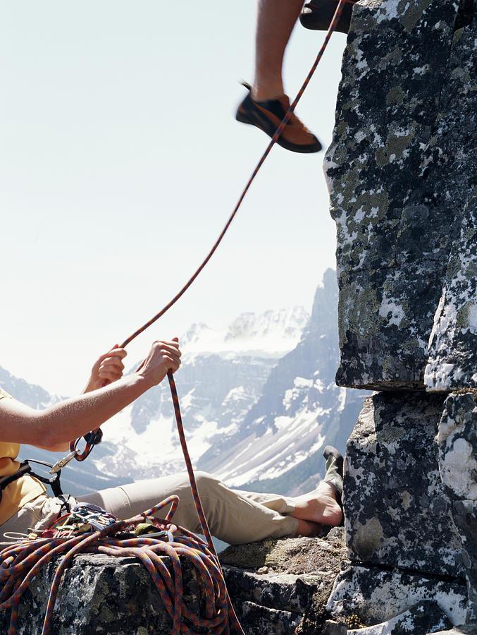 Canada, Banff National Park, Couple Photograph by Ascent/pks Media Inc.