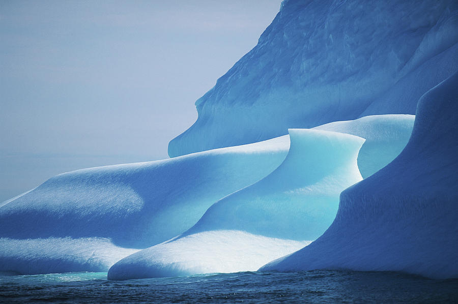 Canada, Labrador Sea, Icebergs, Close-up Photograph by Eastcott Momatiuk