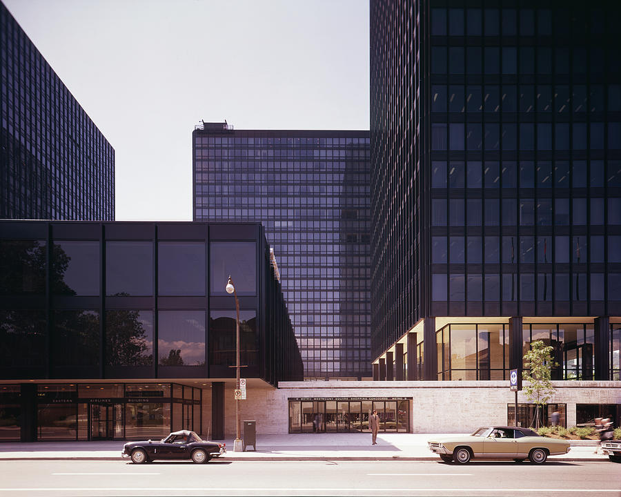 Canadian Buildings Designed By Mies Van Photograph by Chicago History Museum