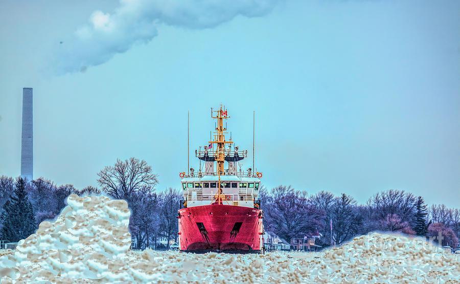 Canadian Coast Guard Cutter by Randy J Heath
