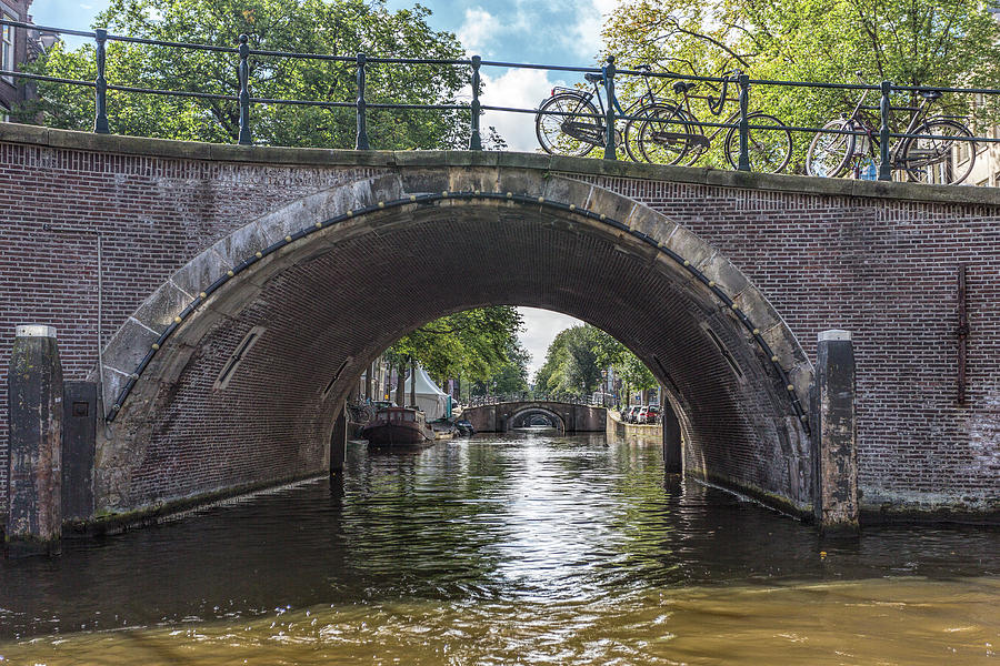 Canal Bridges in Amsterdam by Jemmy Archer