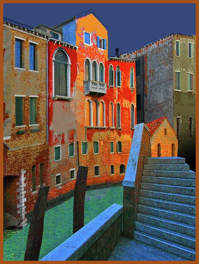 Canal Scene by Guy Ciarcia