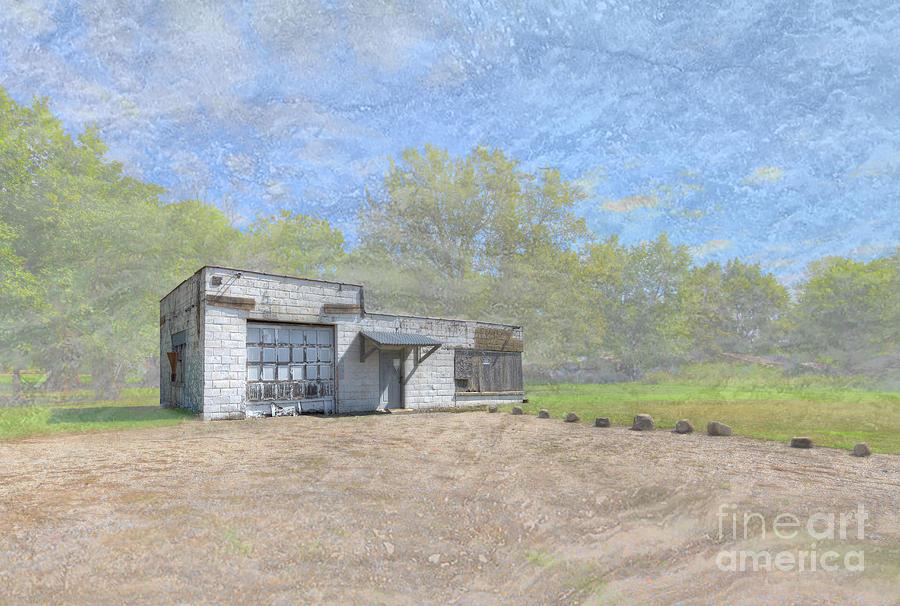 Hdr Digital Art - Canalou Missouri  by Larry Braun