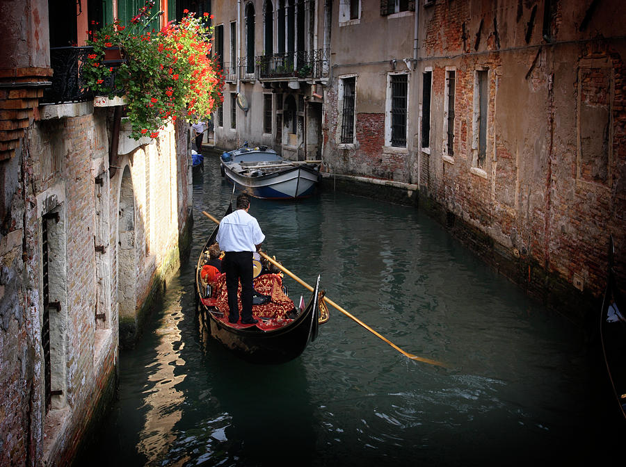 Canals Of Venice Photograph by Dny59