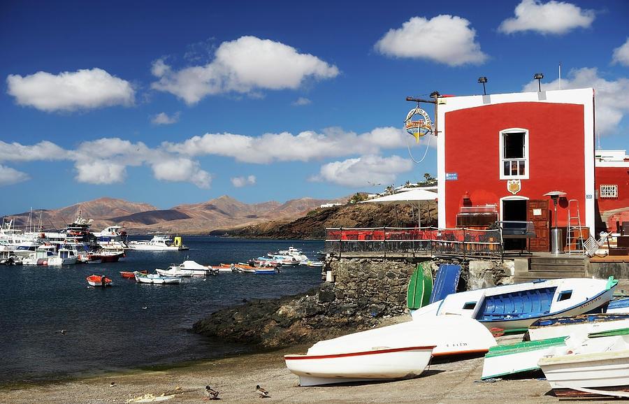 Canary Islands, Lanzarote, Puerto Del Photograph by Wilfried Krecichwost