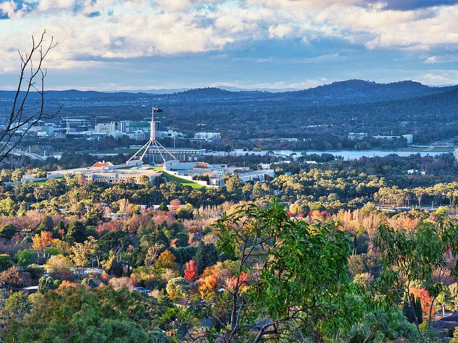 Canberra Autumn 3 - Australia by Steven Ralser