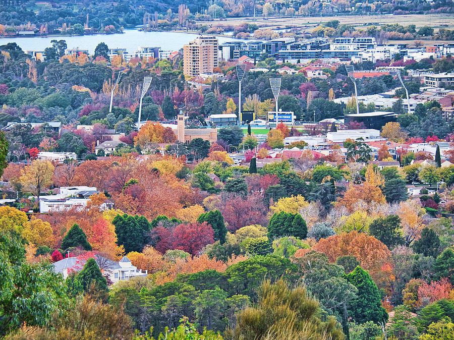 Canberra Autumn - ACT - Australia by Steven Ralser
