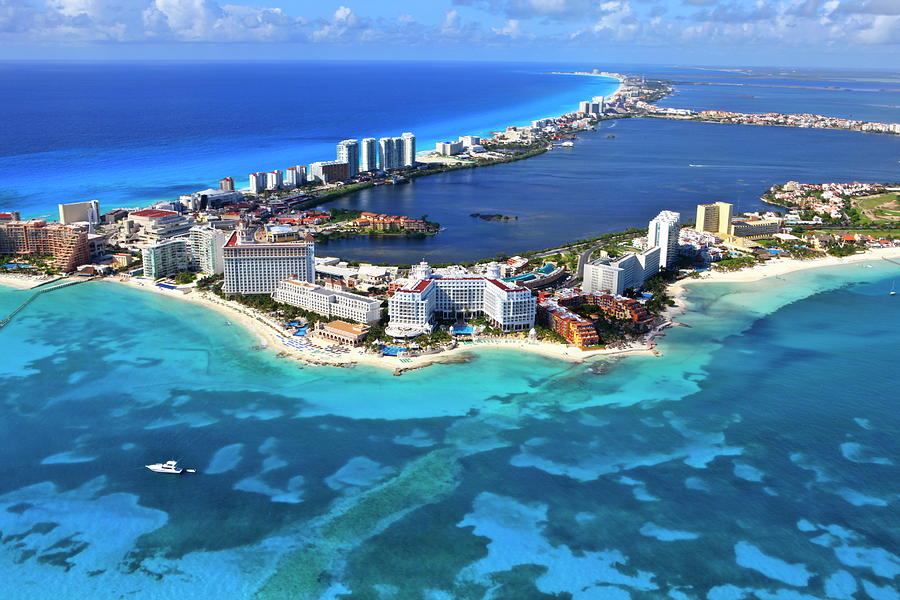 Cancun, Mexico Photograph by Arthur Gonoretzky