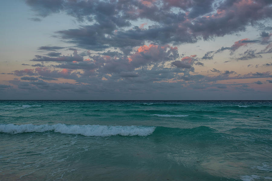 Cancun Sunset Cancun Beach Mexico by Toby McGuire