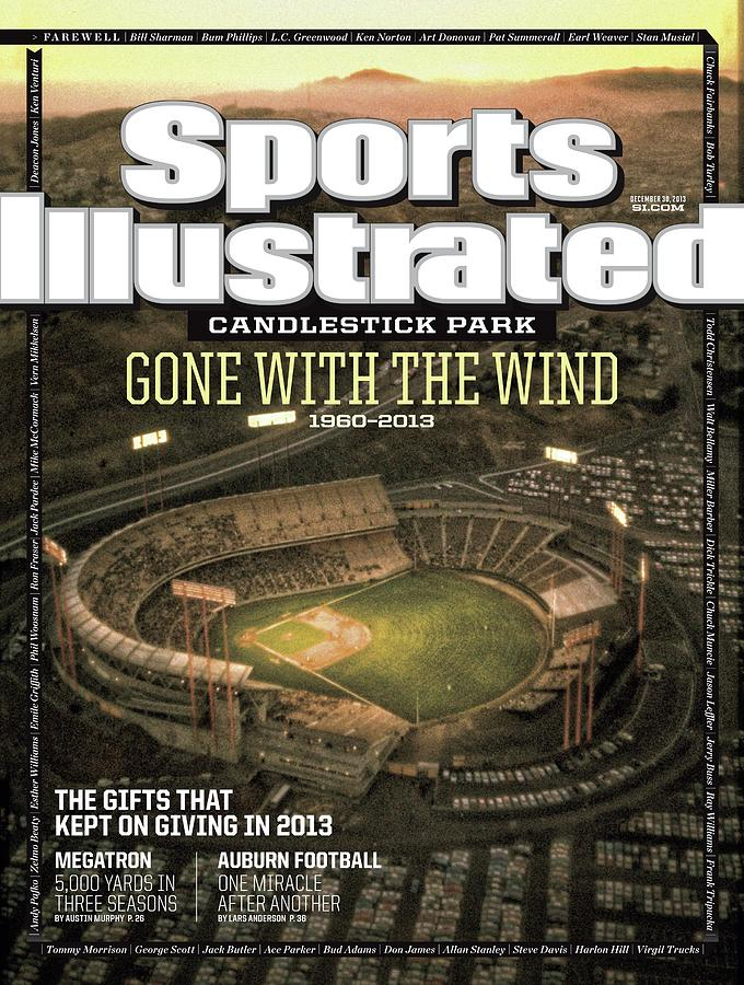 Candlestick Park Gone With The Wind Sports Illustrated Cover Photograph by Sports Illustrated