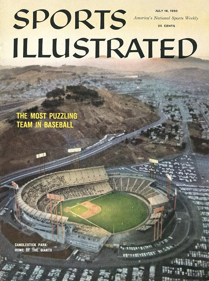 Candlestick Park Sports Illustrated Cover Photograph by Sports Illustrated
