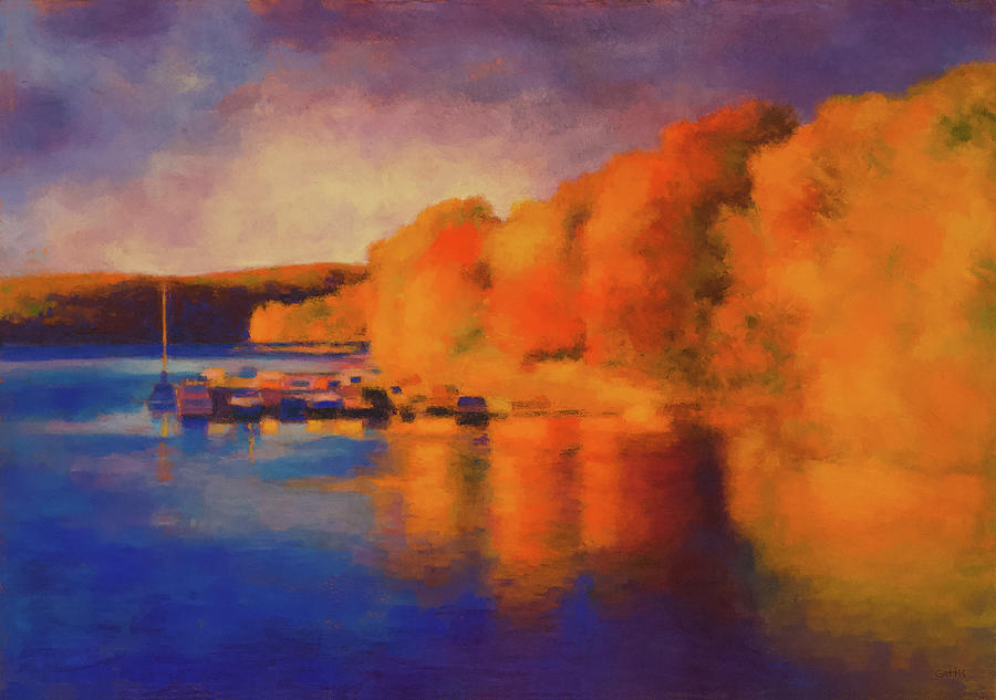 Candlewood Fall by Jeff Gettis