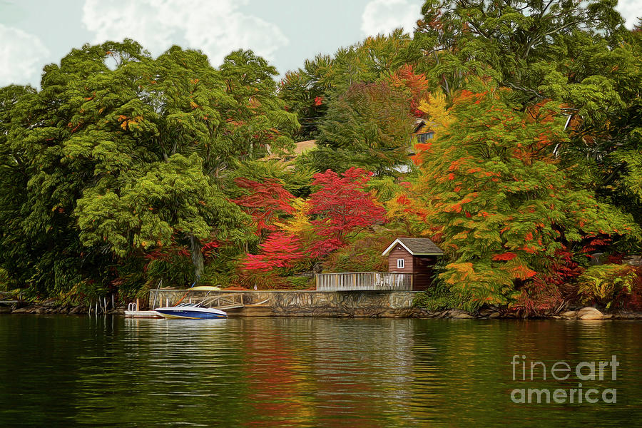 Candlewood Lake, Connecticut by Kathy Baccari