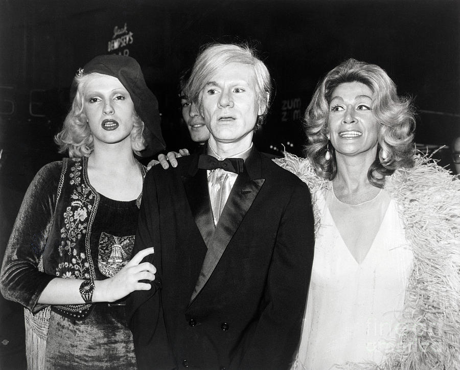 Candy Darling, Andy Warhol And Sylvia Photograph by Bettmann