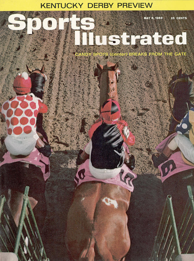 Candy Spots, 1963 Florida Derby Sports Illustrated Cover Photograph by Sports Illustrated