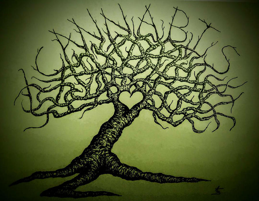 Cannabis Love Tree by Aaron Bombalicki