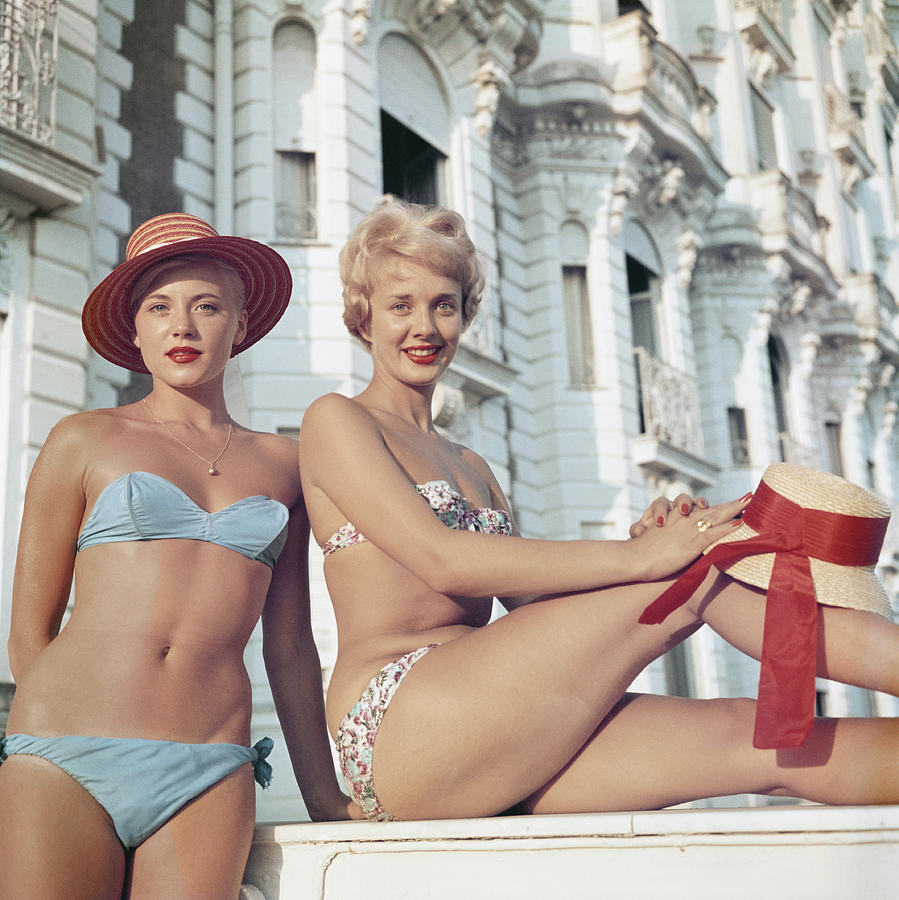 Cannes Cannes Girls Photograph by Slim Aarons