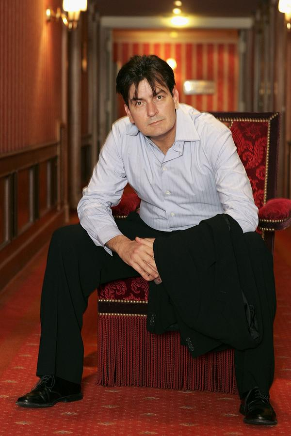Cannes - Charlie Sheen - Portraits Photograph by Mj Kim