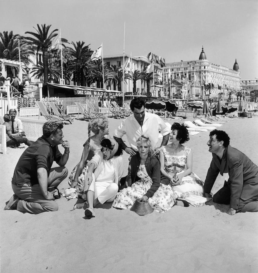 Cannes Film Festival In 1958 Photograph by Keystone-france