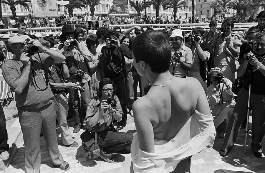 Cannes Film Festival Paparazzi In Action Photograph by George Rose