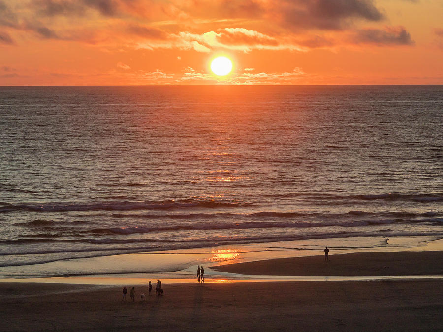 Cannon Beach Sunset by Mark Mille