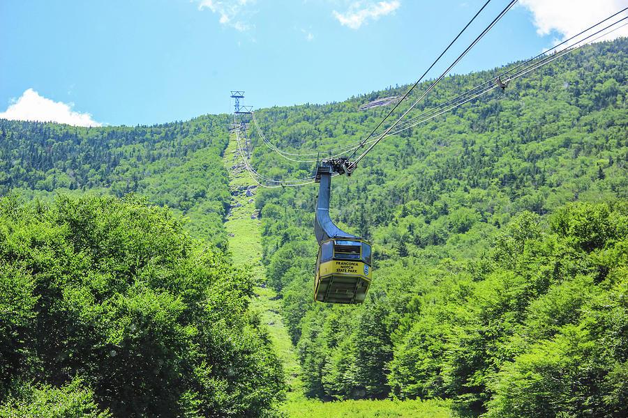 Cannon Mountain Tram  by Debra Forand