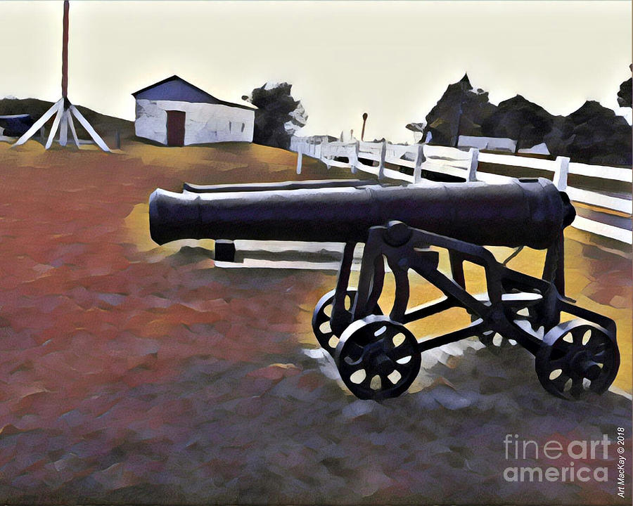 Cannon - Victoria Park PEI by Art MacKay