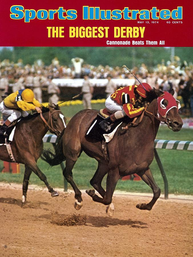 Cannonade, 1974 Kentucky Derby Sports Illustrated Cover Photograph by Sports Illustrated