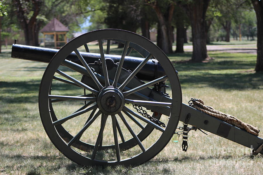 Canon at Fort Sanders New Mexico Military History by Colleen Cornelius