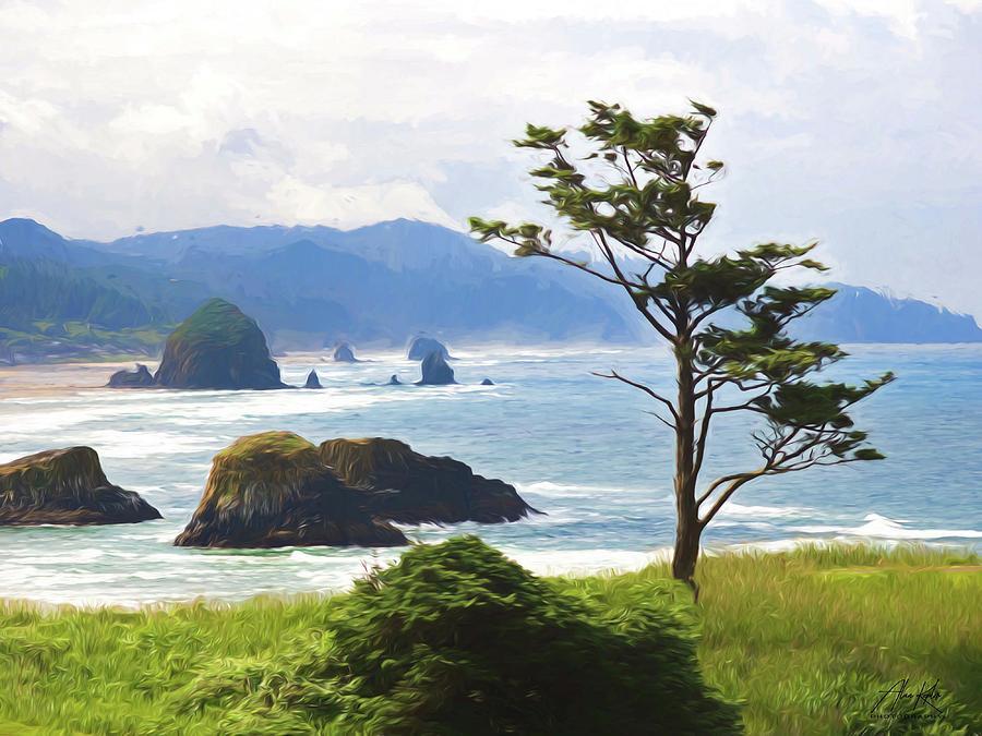 Canon Beach Impression Photograph