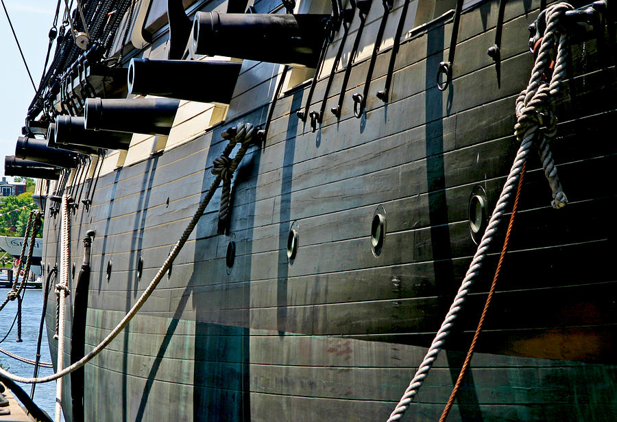 Canons and Portholes by Anthony Jones