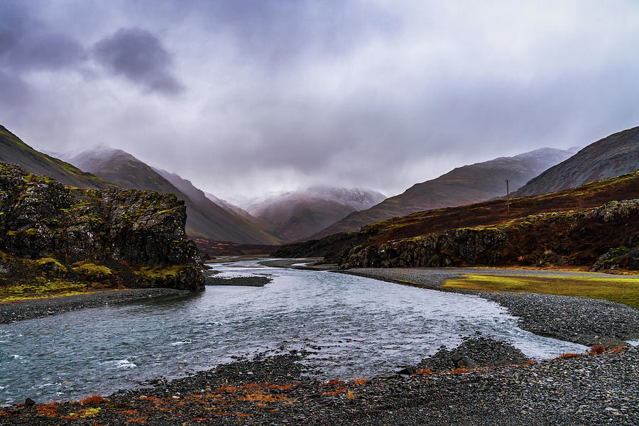 Iceland Photograph - Canyon After the Rain by Framing Places