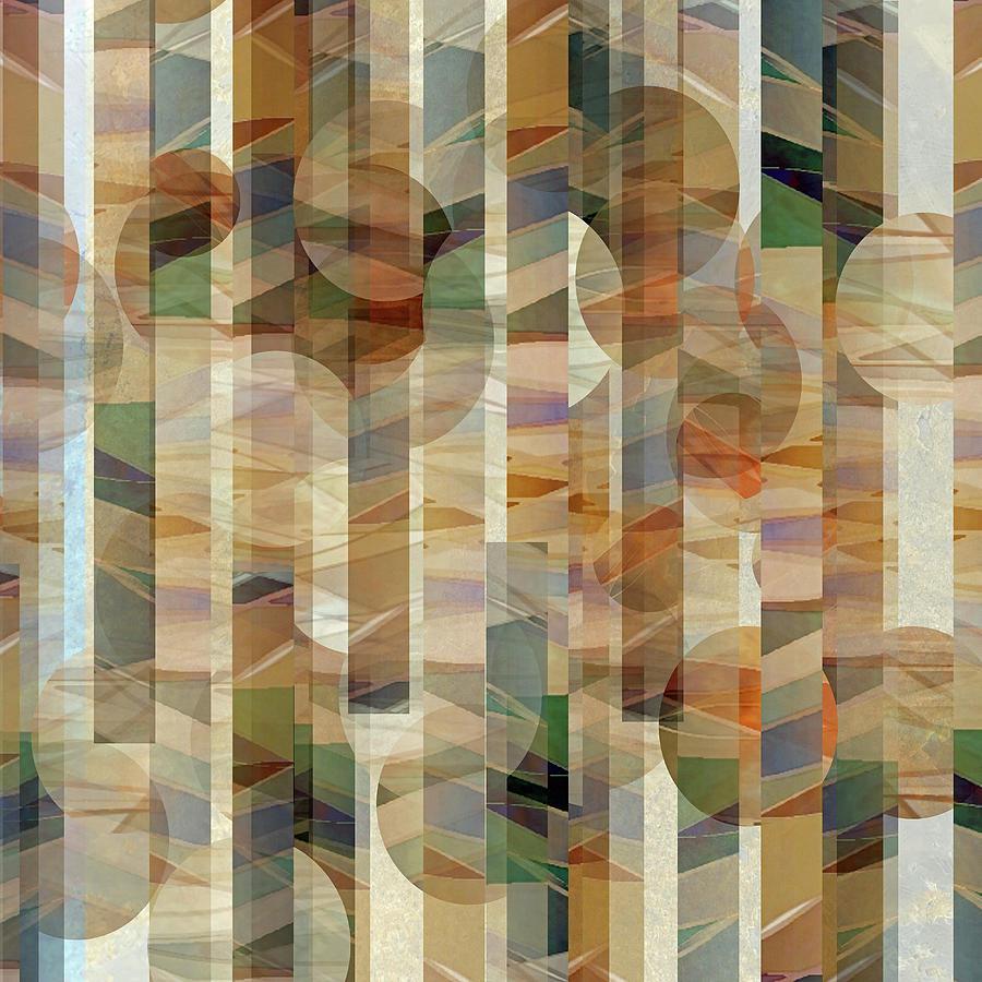 Canyon Circles And Stripes Digital Art