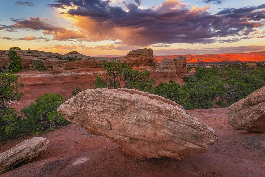 Canyon Clouds by Darren White