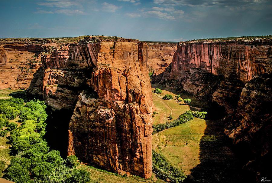 Tranquility Photograph - Canyon De Chelly by Chiara Salvadori
