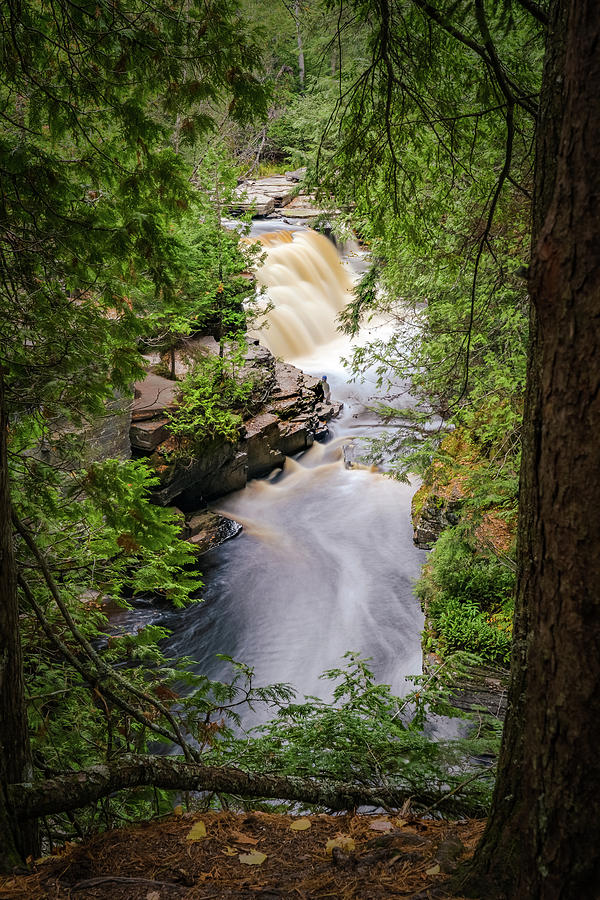Canyon Falls Long by David Heilman