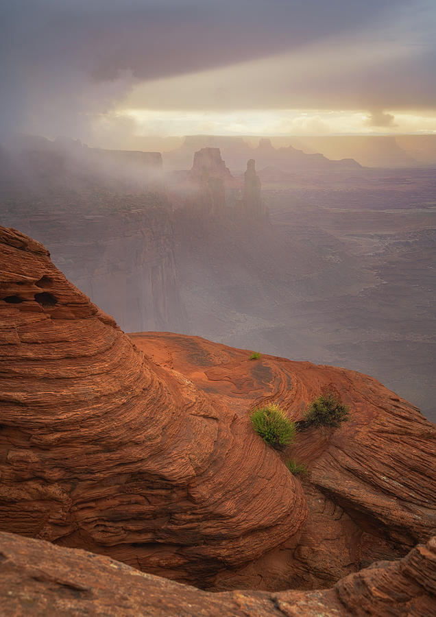 Canyon Moods by Darren White