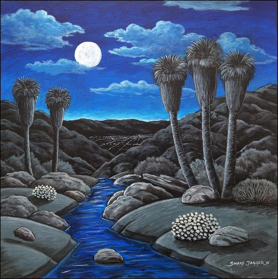 Canyon Moonrise by Snake Jagger