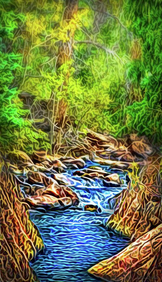 Canyon River Dream by Joel Bruce Wallach