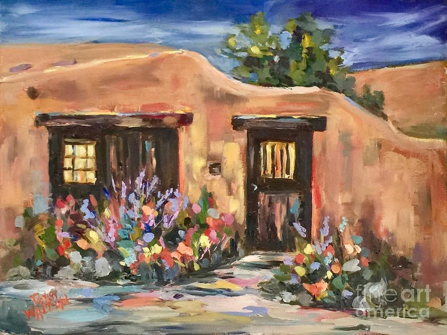 Canyon Road Casa by Patsy Walton