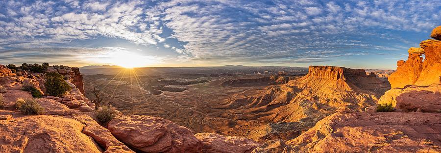 canyonland national park Pano 1 by Mati Krimerman