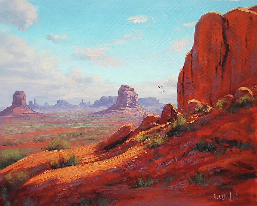 Canyonlands Painting - Canyonlands  by Graham Gercken