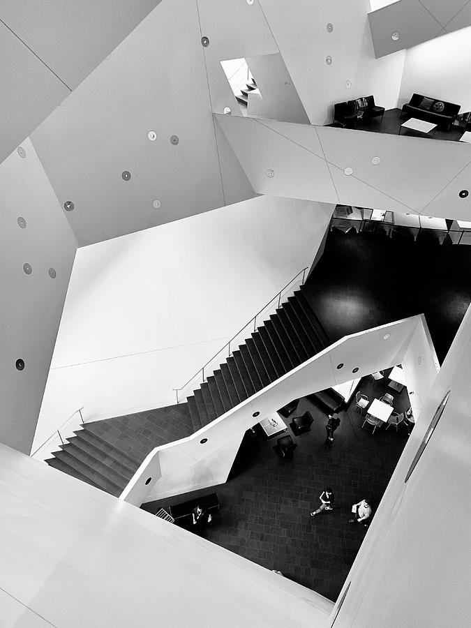 Canyons of the Denver Art Museum by Marilyn Hunt