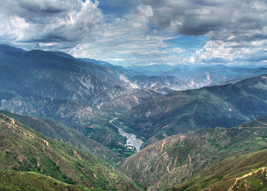 Cañon  Chicamocha Photograph by Fred Fraces