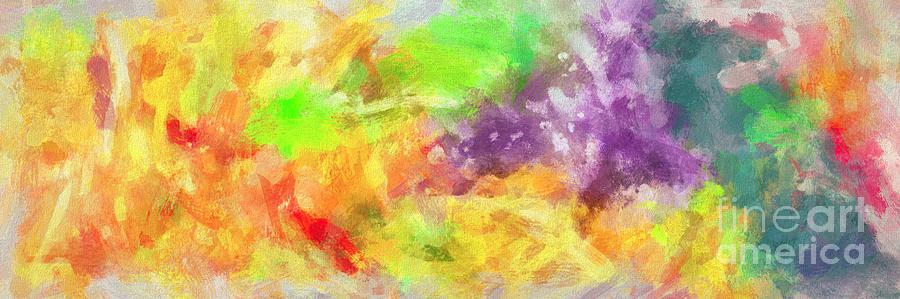 Complex Painting - Caos in colors by Stefano Senise