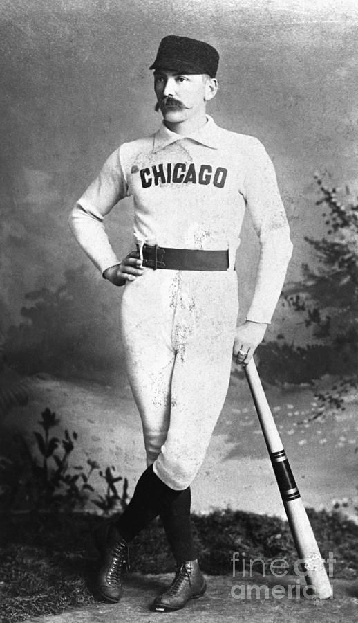 Cap Anson, Famed Baseball Player Photograph by Bettmann