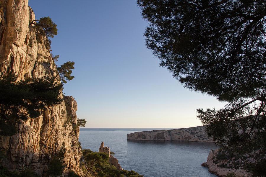 Calanques Photograph - Cap Morgiou Depuis La Calanque De Sugiton by Sebastien DELACROSE