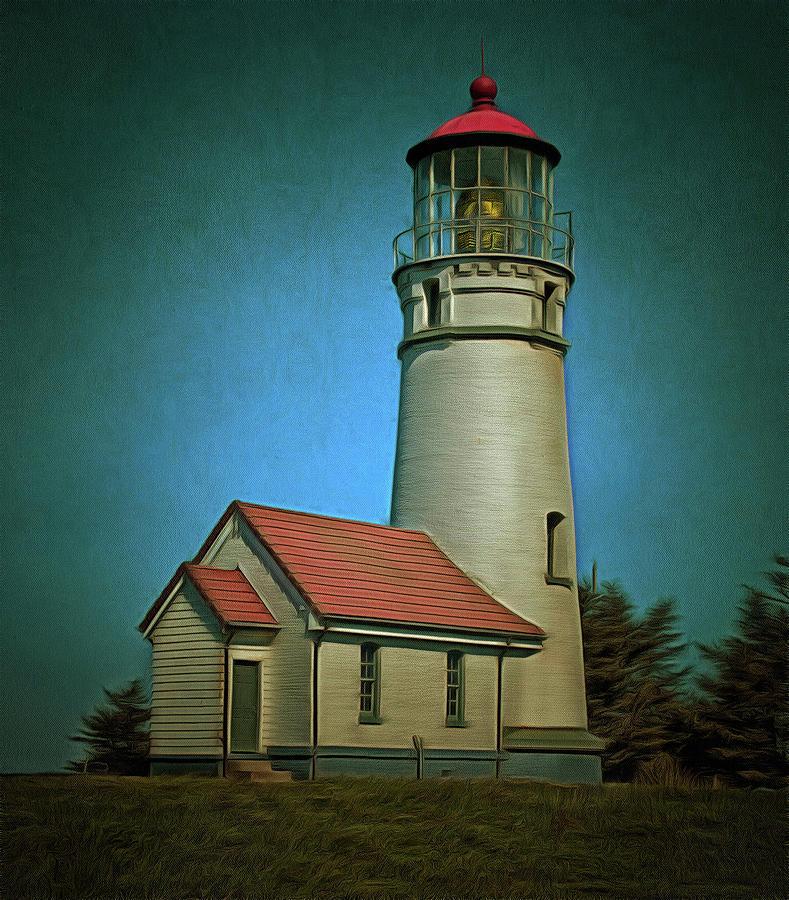 Cape Blanco Light by Thom Zehrfeld